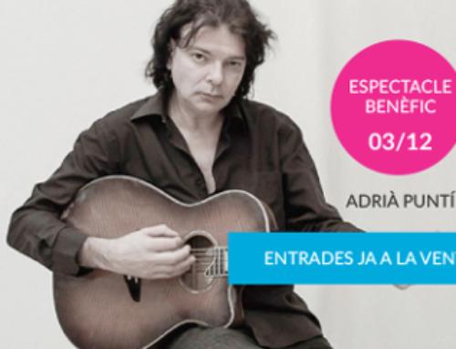 Adrià Puntí realitzarà un concert solidari per celebrar els 50 anys de l'Associació Sant Tomàs!