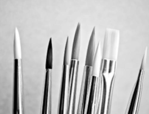 Exposició de pintura d'usuaris del Cente Ocupacional de Calldetenes